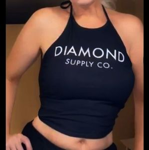 Diamond supply company Halter top 💎🛹